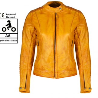 MotoGirl Valerie Yellow Jacket
